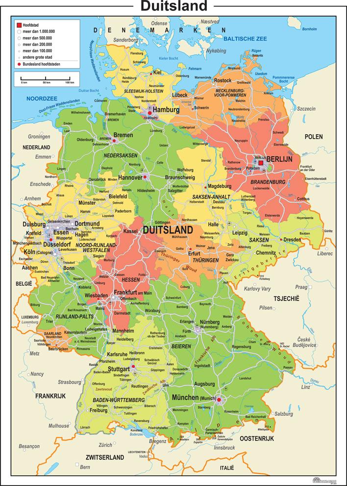 Duitsland Kaart Images