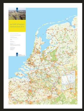 Constructiekaart Rijkswaterstaat Nederland