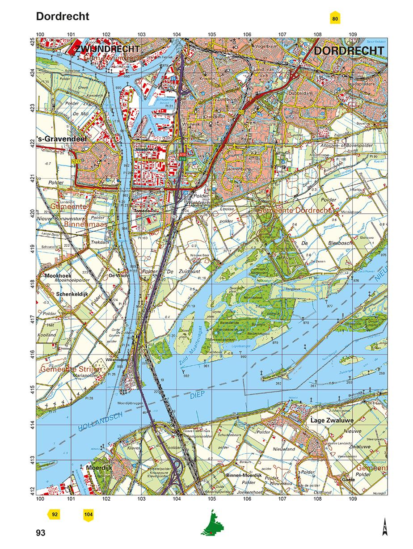 Kaartblad Dordrecht