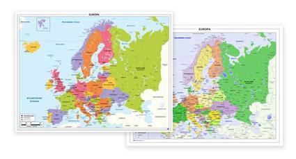 Schoolkaarten Europa