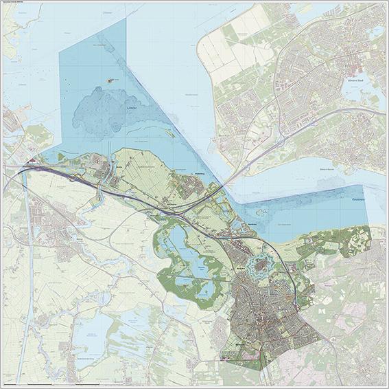 Kaart Gemeente Gooise Meren