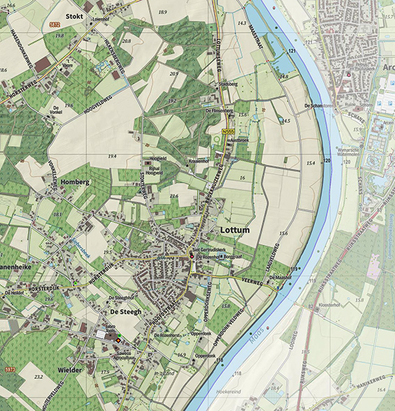 Gem-Horst aan de Maas-detail.