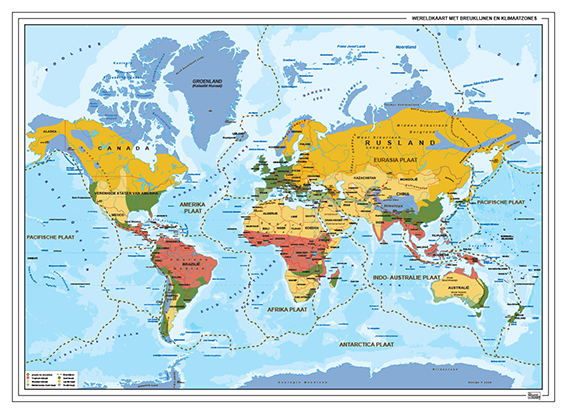 Klimaat en Breuklijnenkaart