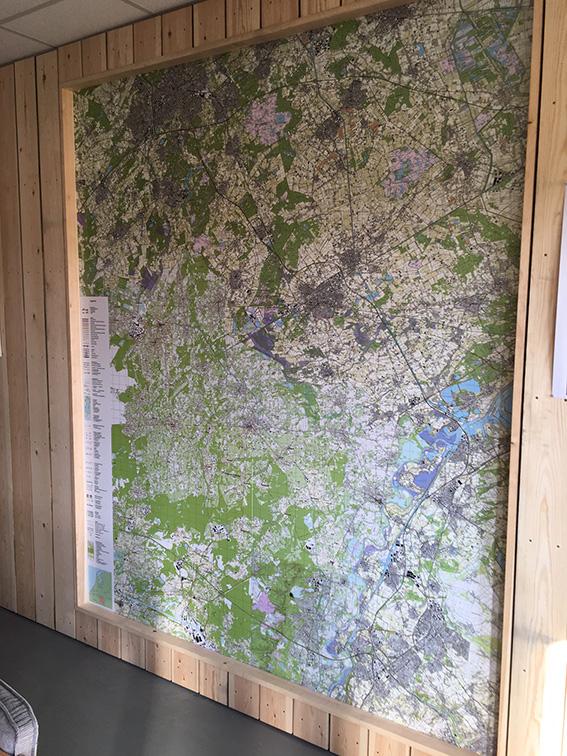Topografische kaart Natuurmonumenten