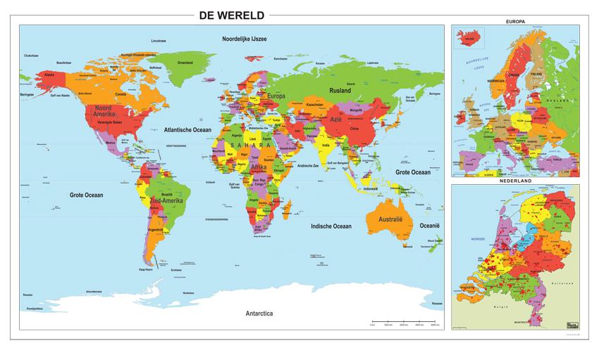 Digitale schoolkaart wereld europa nederland 300 kaarten en - De thuisbasis van de wereld chesterfield ...