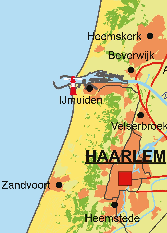 Digitale Kaart Noord Holland 456 Kaarten En Atlassen Nl
