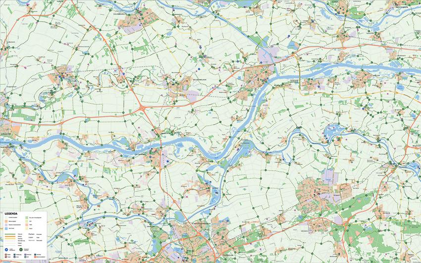 Kaart op Maat Rivierenland