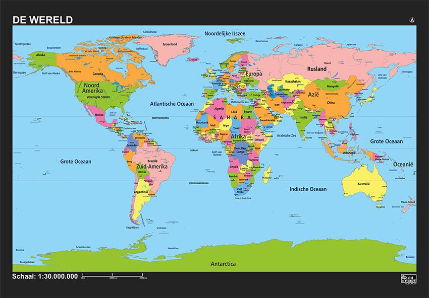 Wereld schoolkaart 317 kaarten en - Home key van de wereld ...