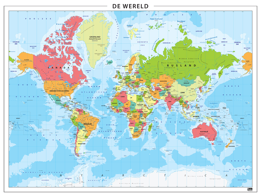 Digitale wereldkaart nederlandstalig 315 kaarten en - Salontafel herbergt de wereld ...