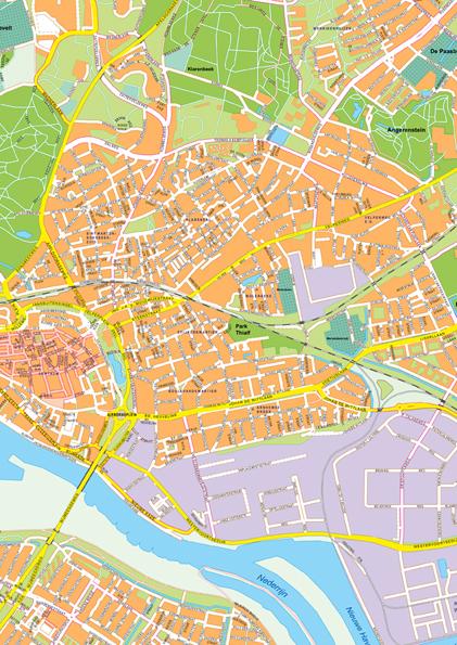 Kaart Arnhem 392 Kaarten En Atlassen Nl