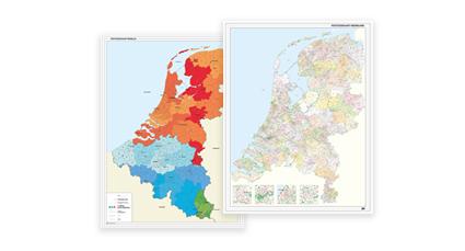 Beprikbare Beneluxkaarten