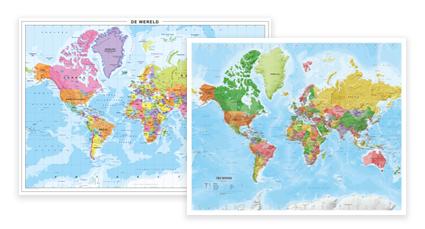 Beprikbare Wereldkaarten