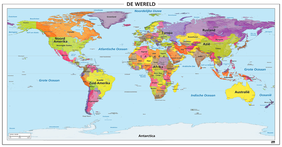 wereldkaart ~ Online World Map, Map Of World.