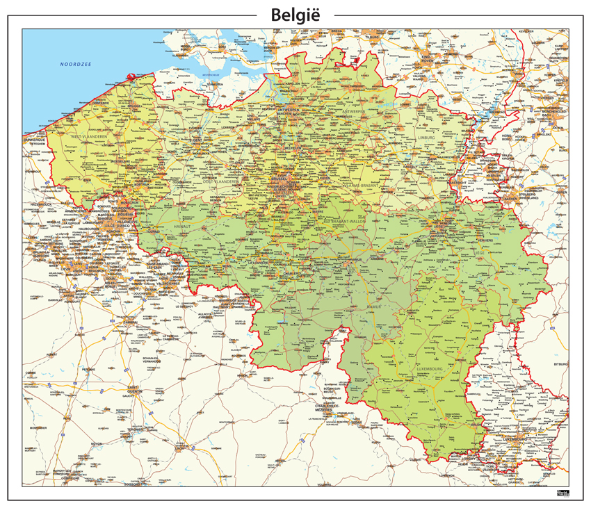 Gratis dating site belgie provincies kaart