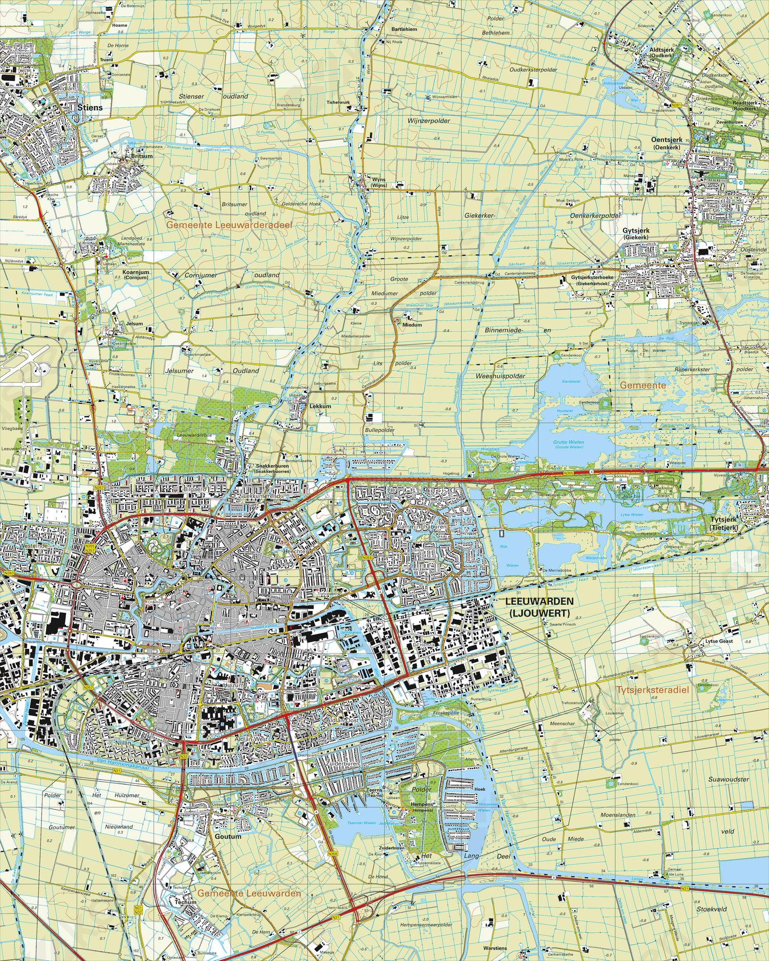 Topografische Kaart 6c Leeuwarden Kaarten En Atlassen Nl