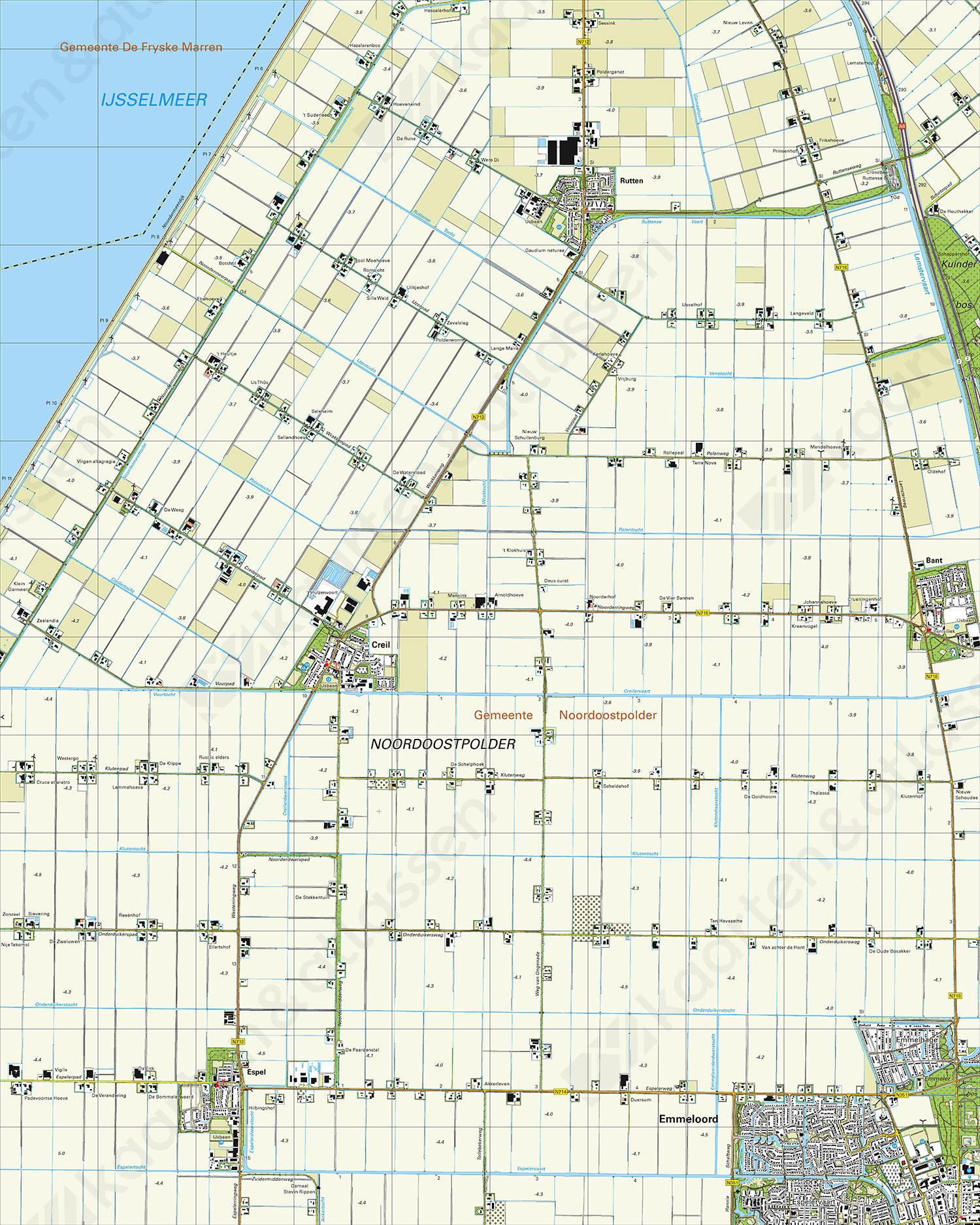 Topografische Kaart 15H Creil