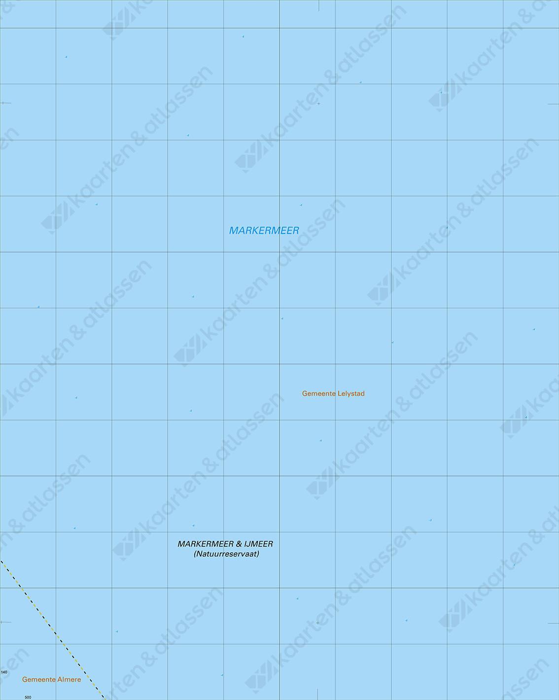 Topografische Kaart 20C Markermeer