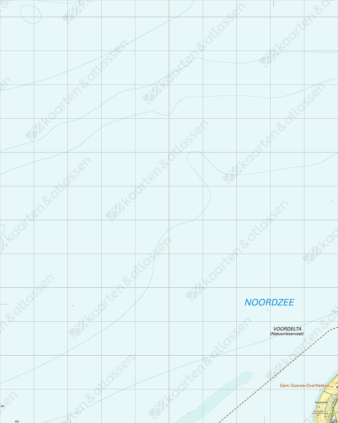 Topografische Kaart 36G Goeree-Overflakkee