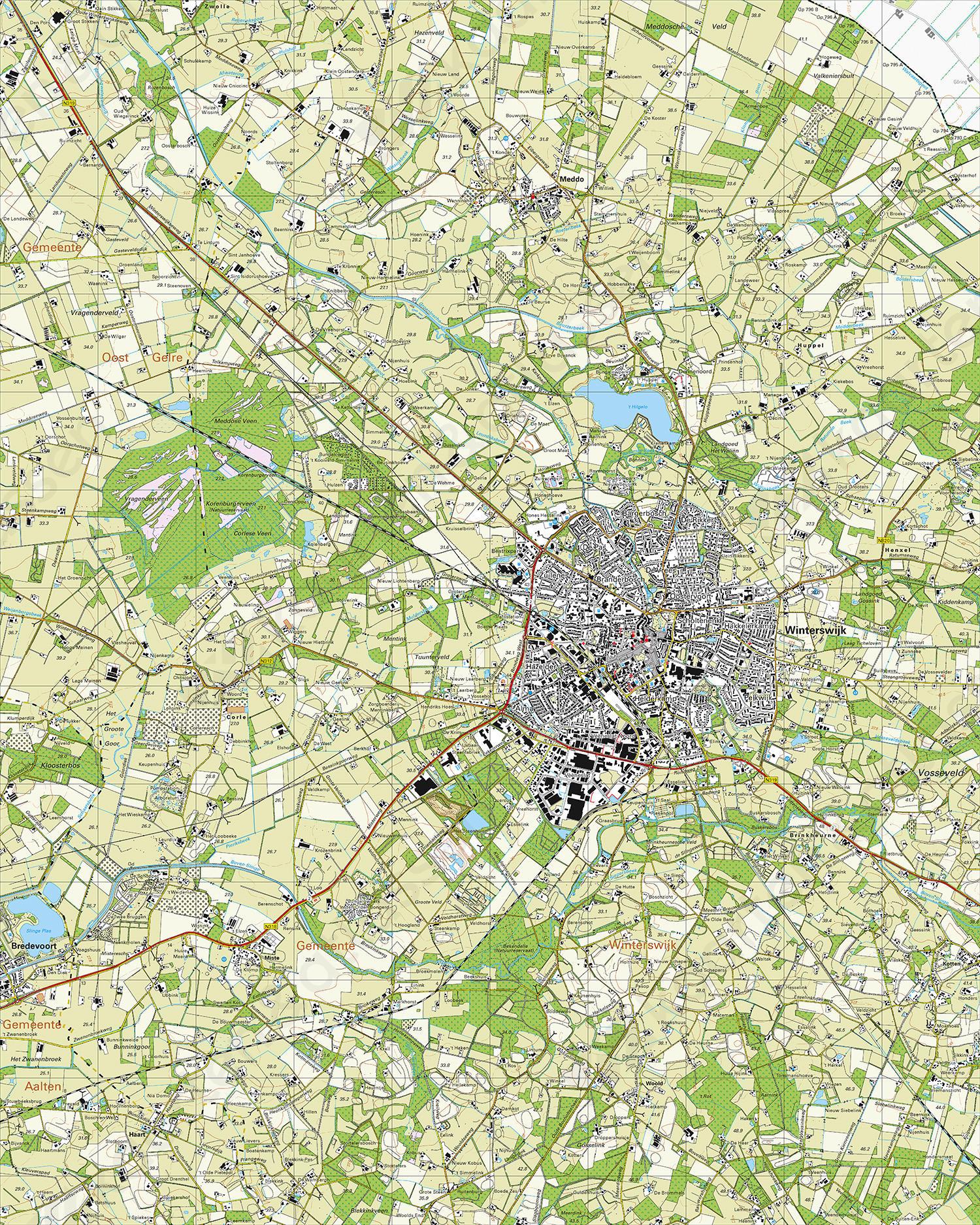 Topografische Kaart 41e Winterswijk Kaarten En Atlassen Nl