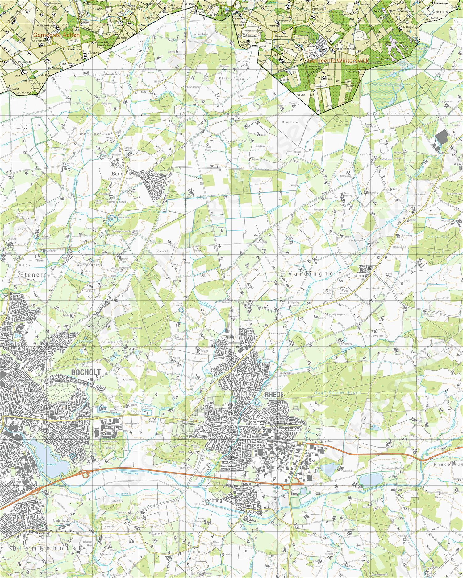 Topografische Kaart 41G Haart