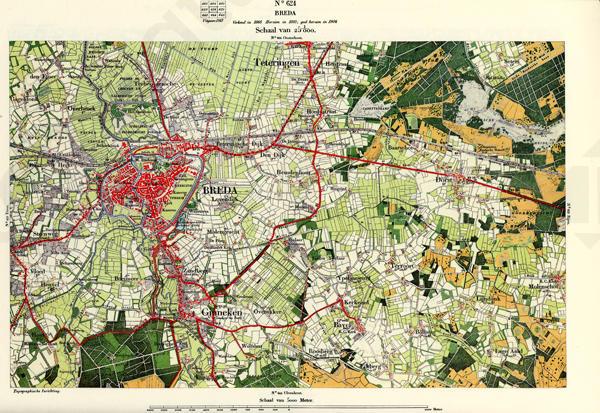 breda kaart Breda 624 | Kaarten en Atlassen.nl