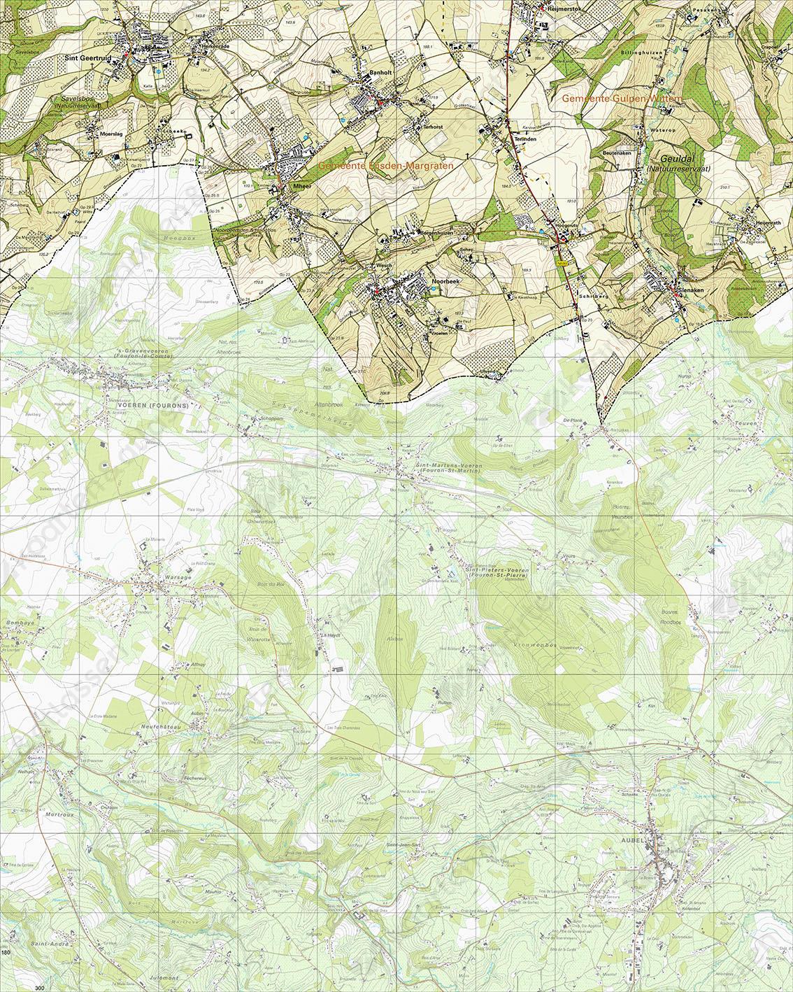 Topografische Kaart 62C Noorbeek