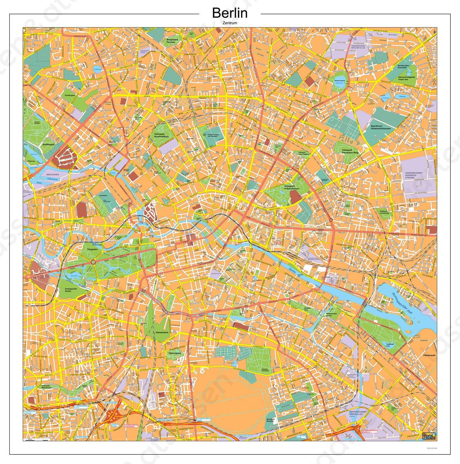 Berlijn Centrum / Berlin Zentrum