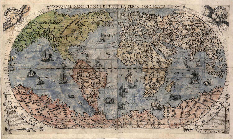 Wereldkaart Berteli