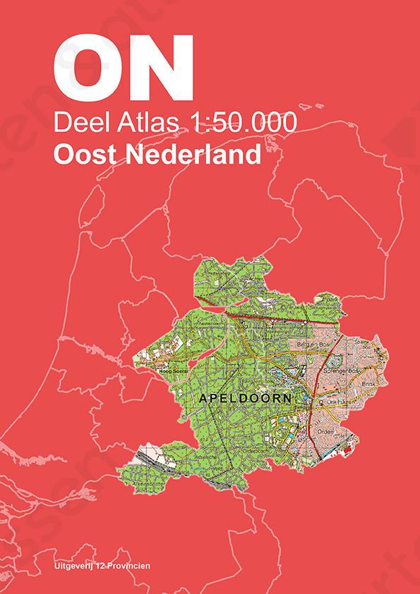 Omslag Atlas Oost-Nederland