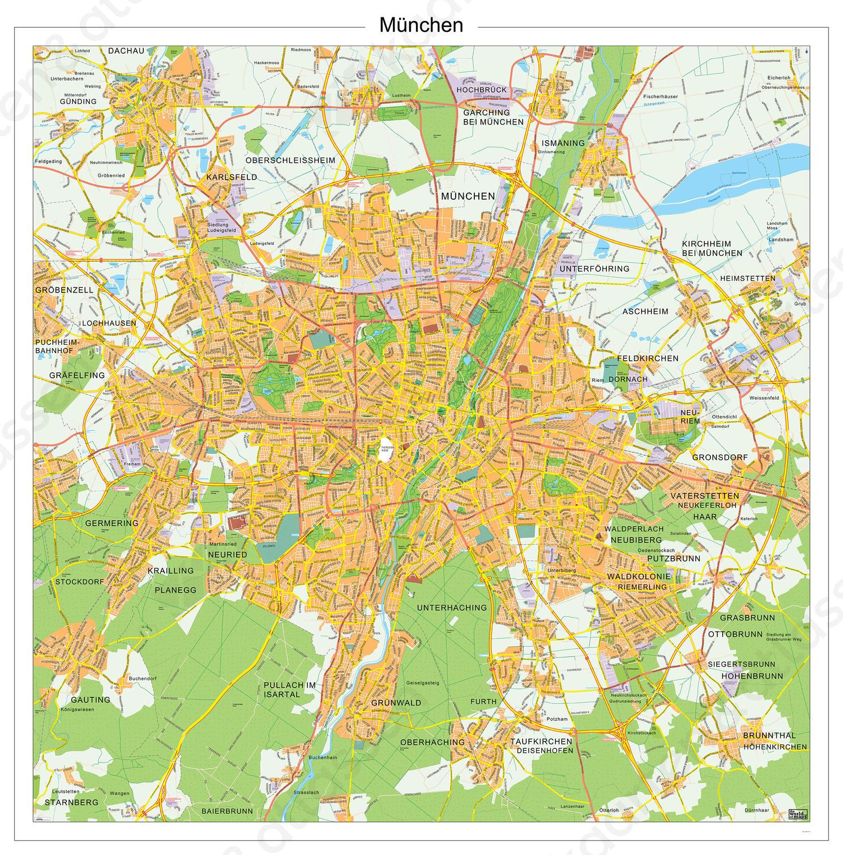Digitale kaart München 144