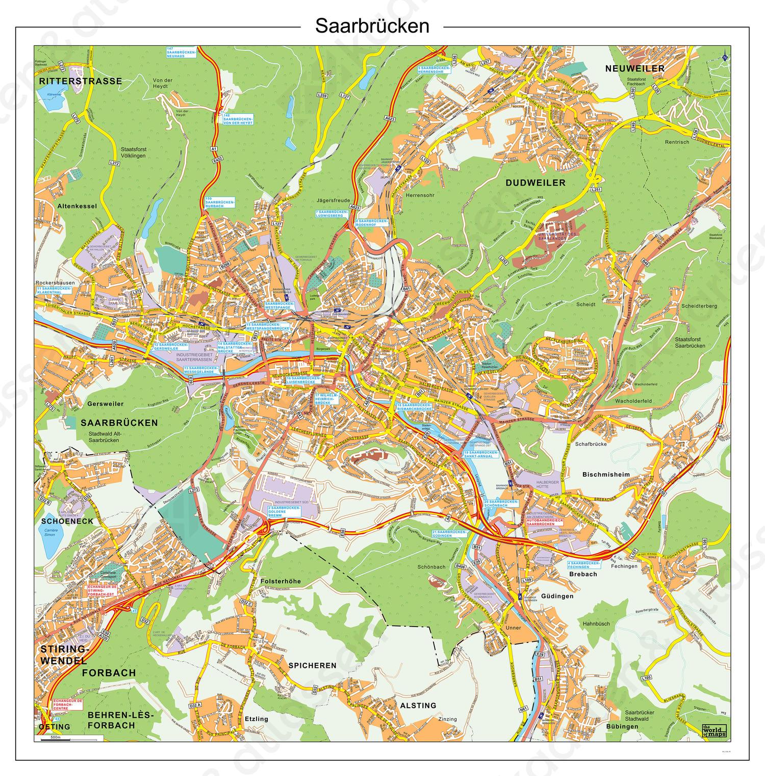 Saarbrucken / Saarbrücken 185