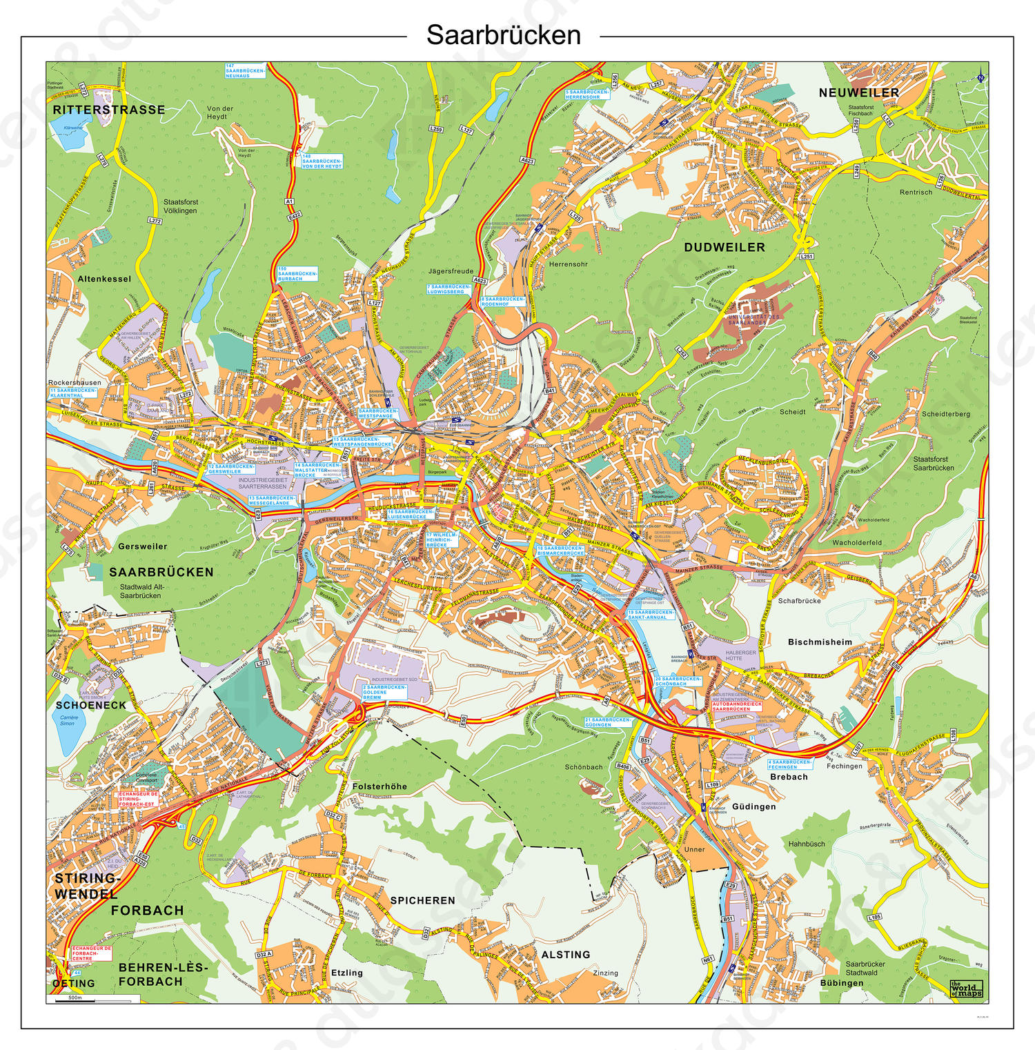 Digitale Saarbrucken / Saarbrücken 185