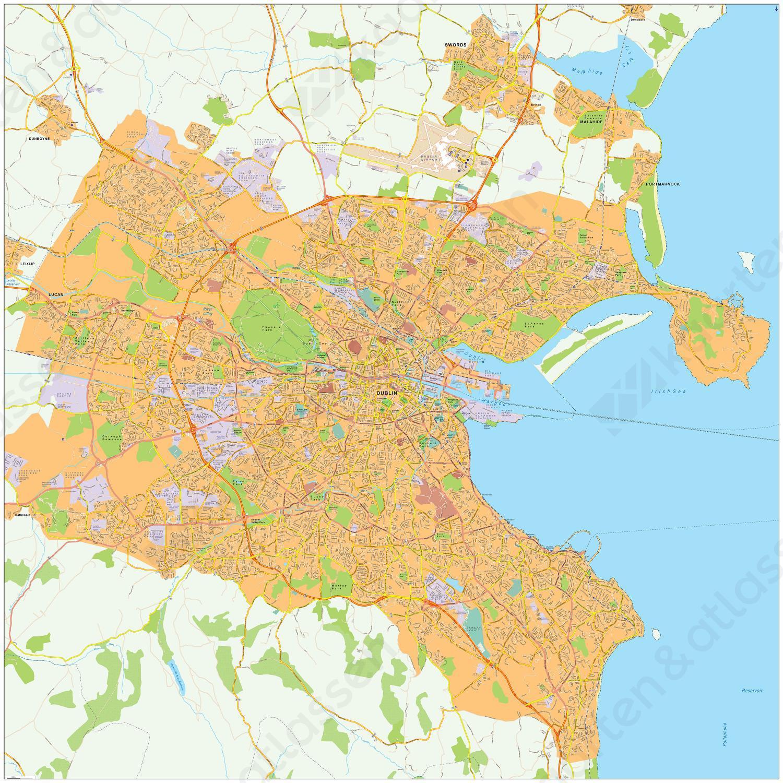 Digitale kaart Dublin 474
