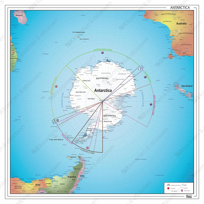 Digitale kaart Zuidpoolgebied 1376