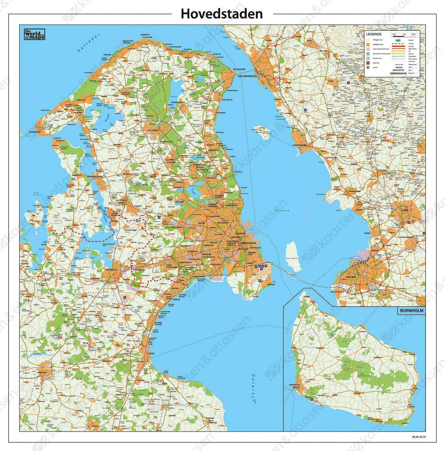 Digitale Kaart Hovedstaden 67