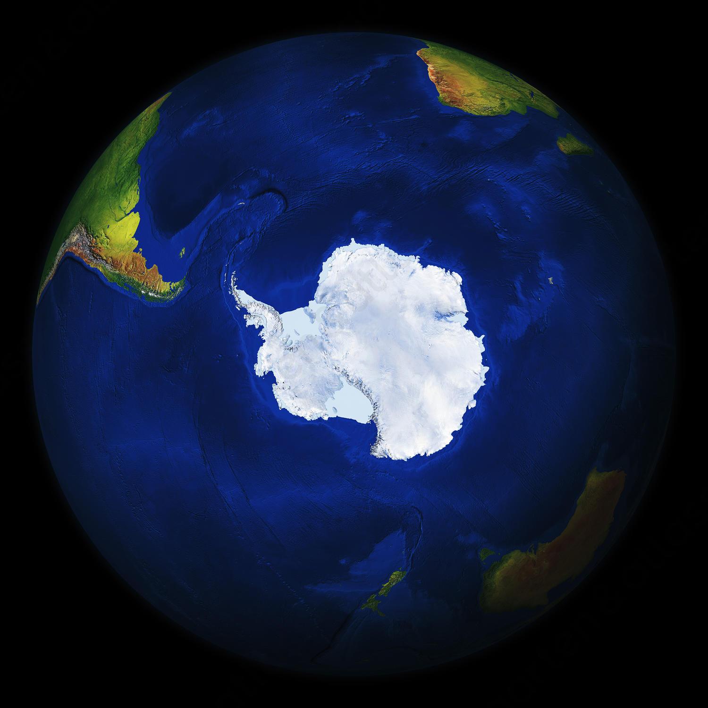 Wereldbol Antarctica 545