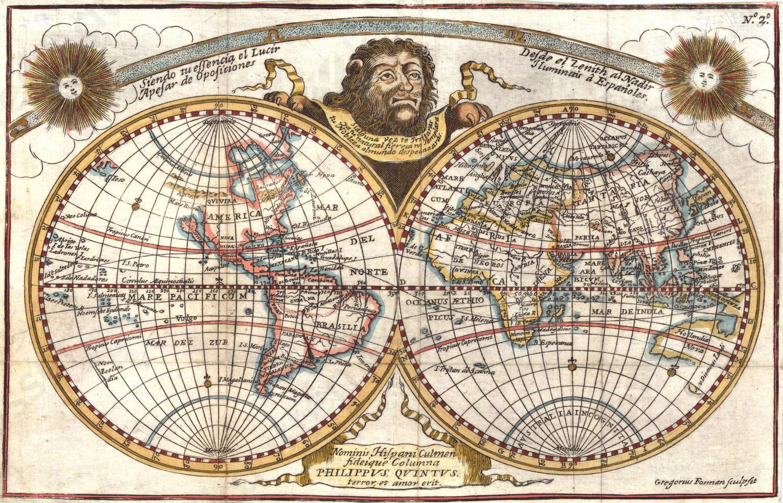 Wereldkaart Lasso