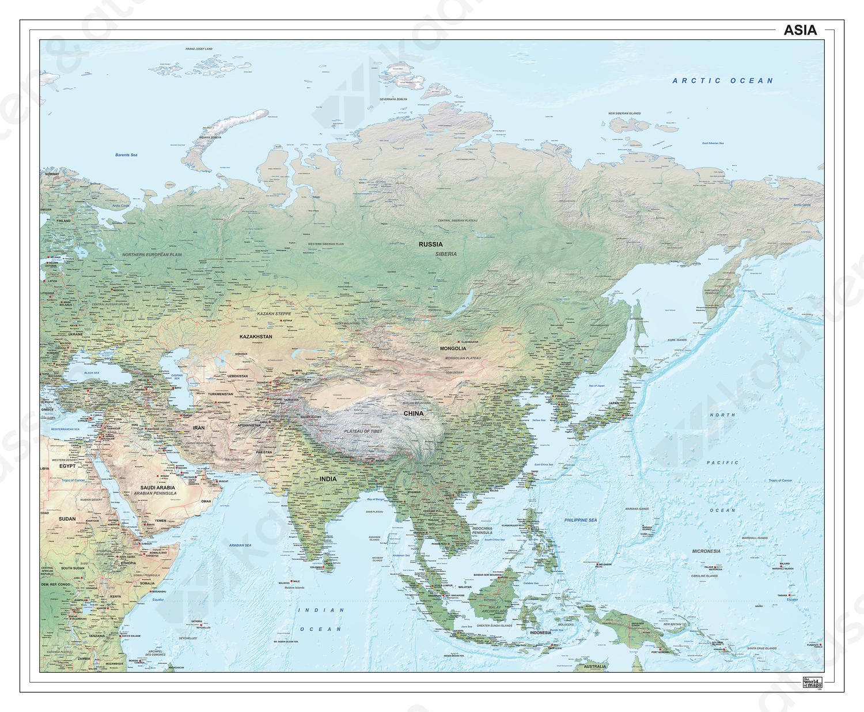 Azië natuurkundig 1289
