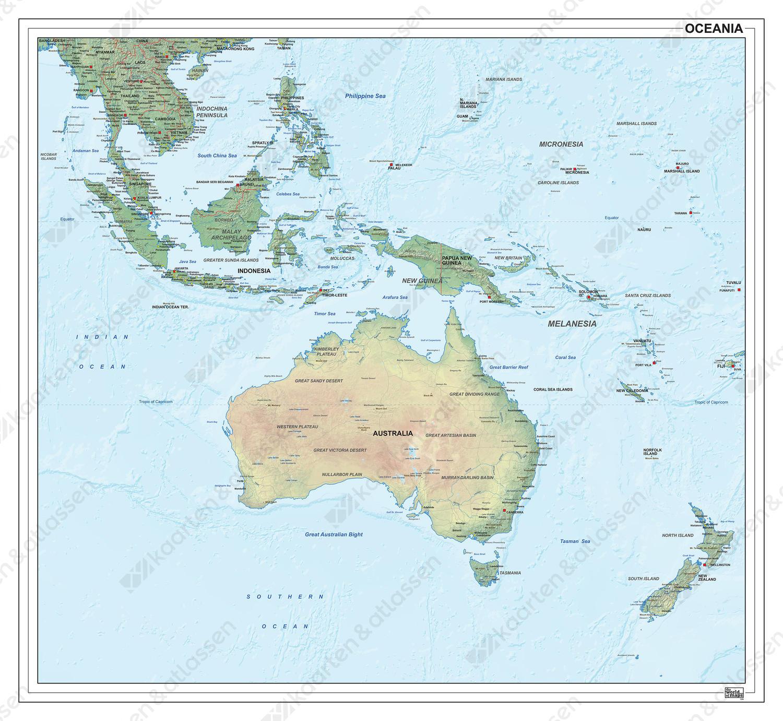 Oceanië natuurkundig 1290