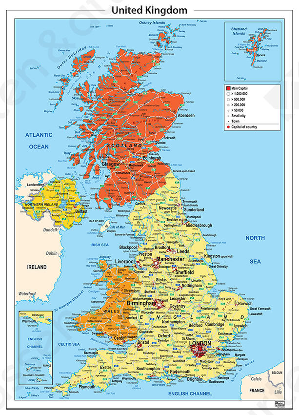 Verenigd Koninkrijk/United Kingdom Staatkundig