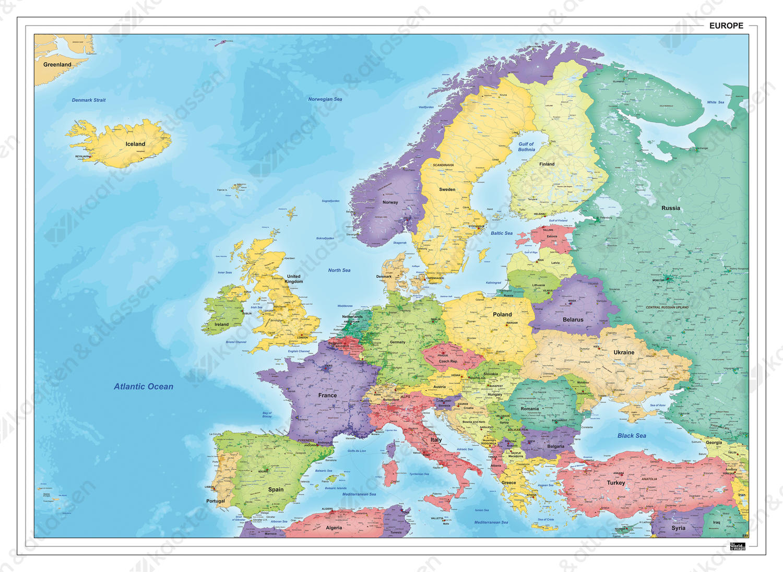 Digitale Europakaart