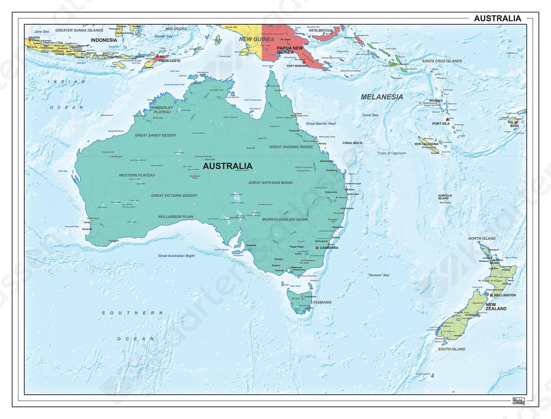Digitale Australië staatkundig 1306