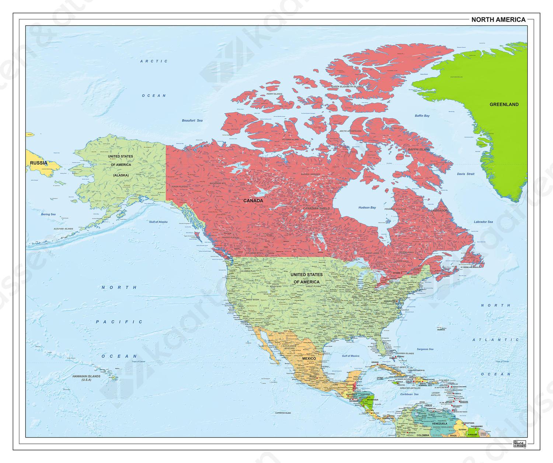 Noord-Amerika staatkundig 1279