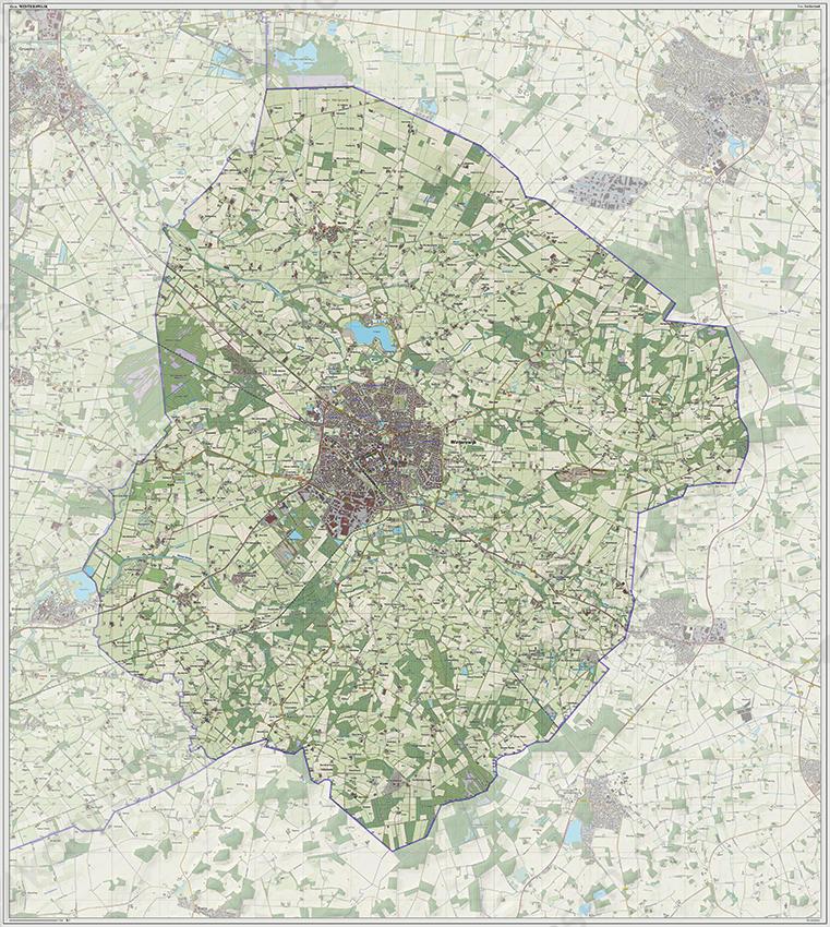 kaart winterswijk Winterswijk 1229 | Kaarten en Atlassen.nl
