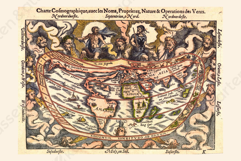 Wereldkaart Apianos