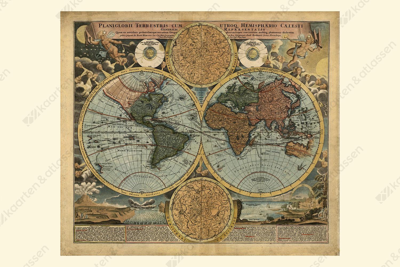 Wereldkaart Johann Baptist Homann