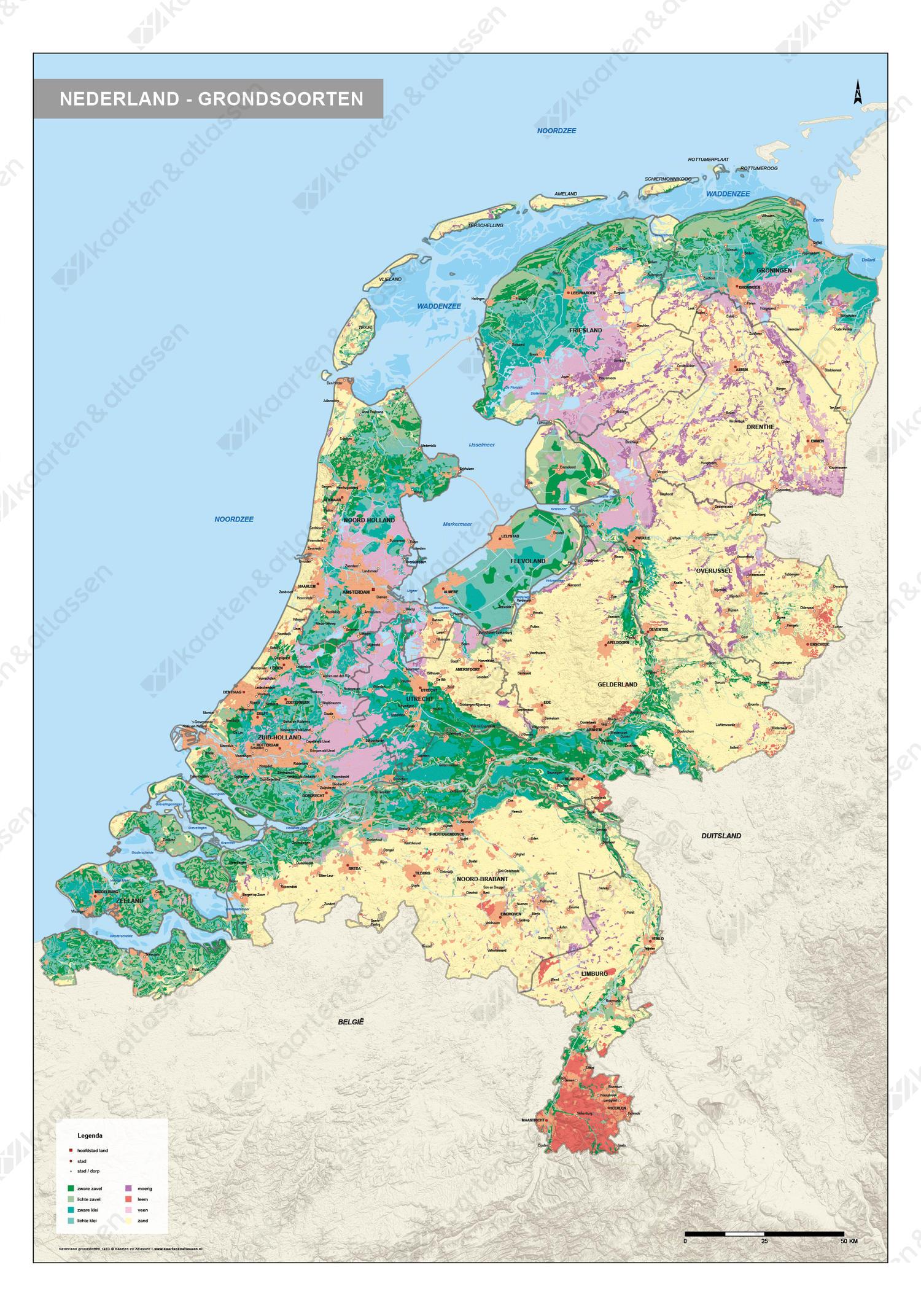 Digitale Grondsoortenkaart Nederland