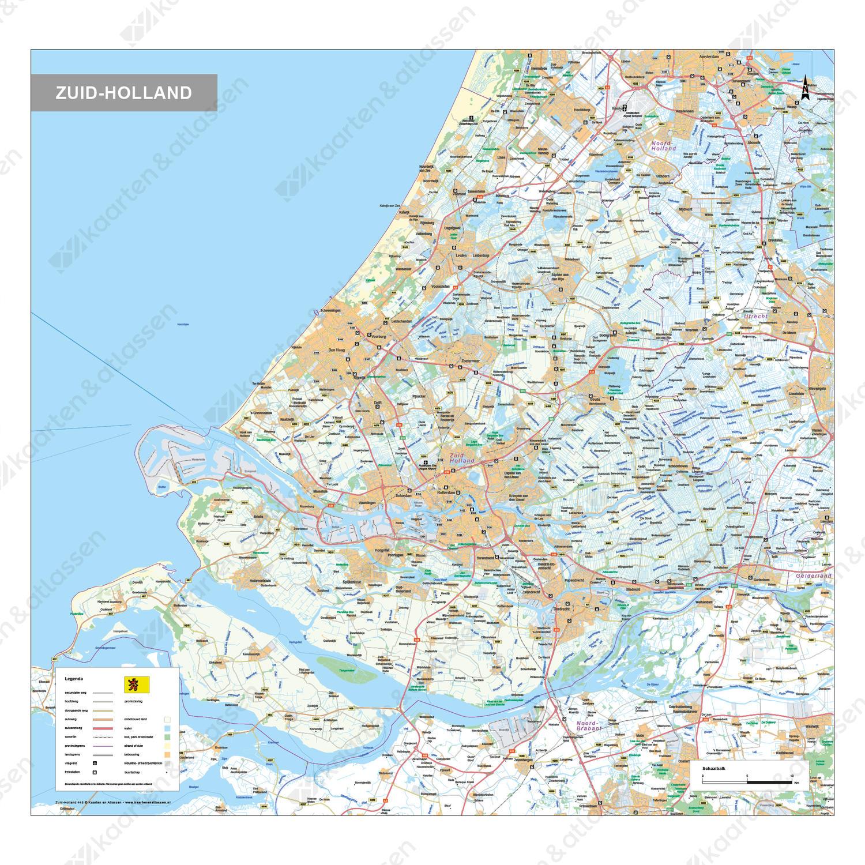 Digitale Kaart Zuid-Holland