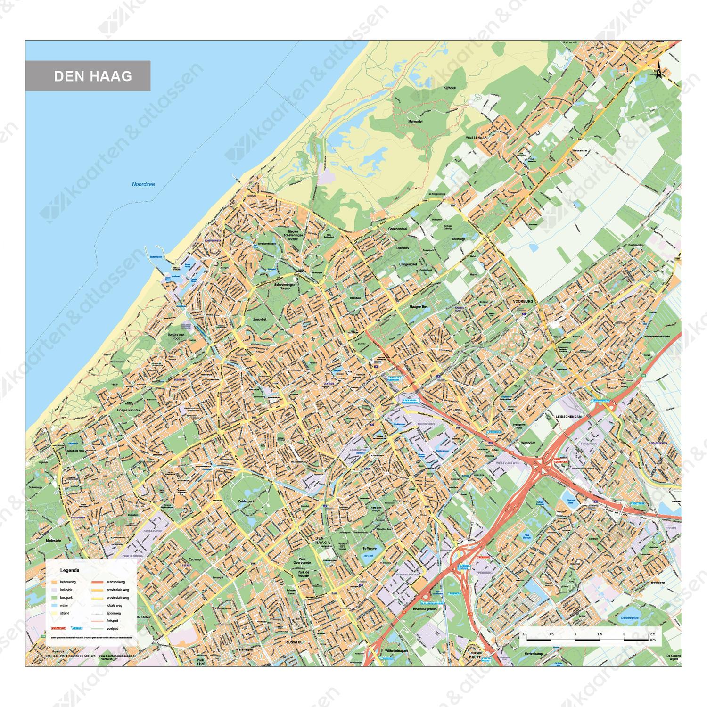 Kaart Den Haag 395 Kaarten En Atlassen Nl