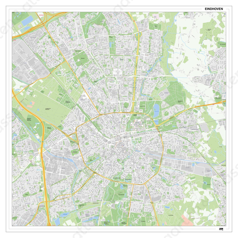 Digitale Kaart Eindhoven